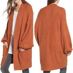 Leith // Nordstrom Blouson Sleeve Cardigan Size XS